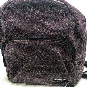 Victoria's Secret glitter black backpack